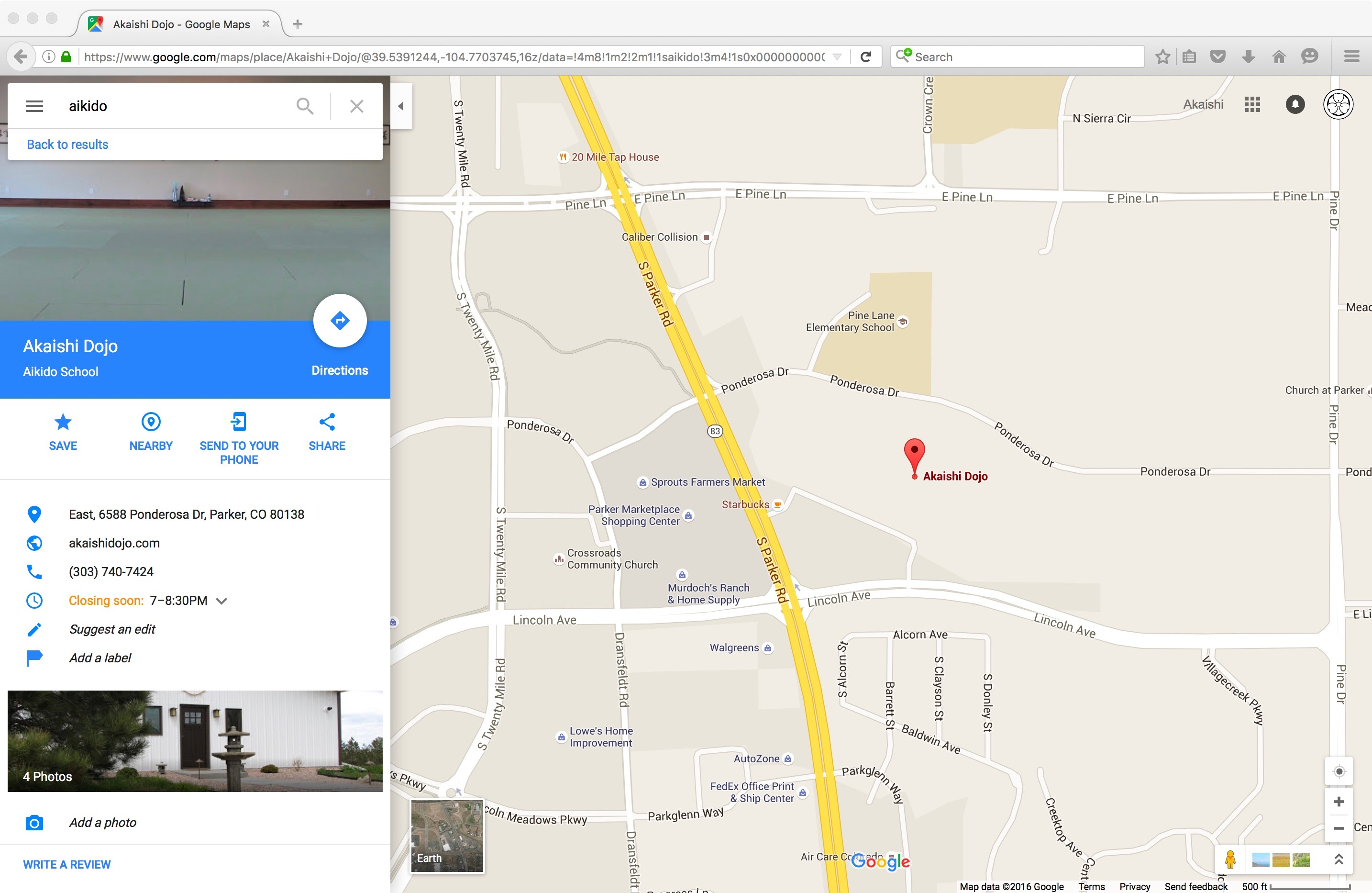 We Are Finally On Google Maps Akaishi Dojo - What is the us google map version=